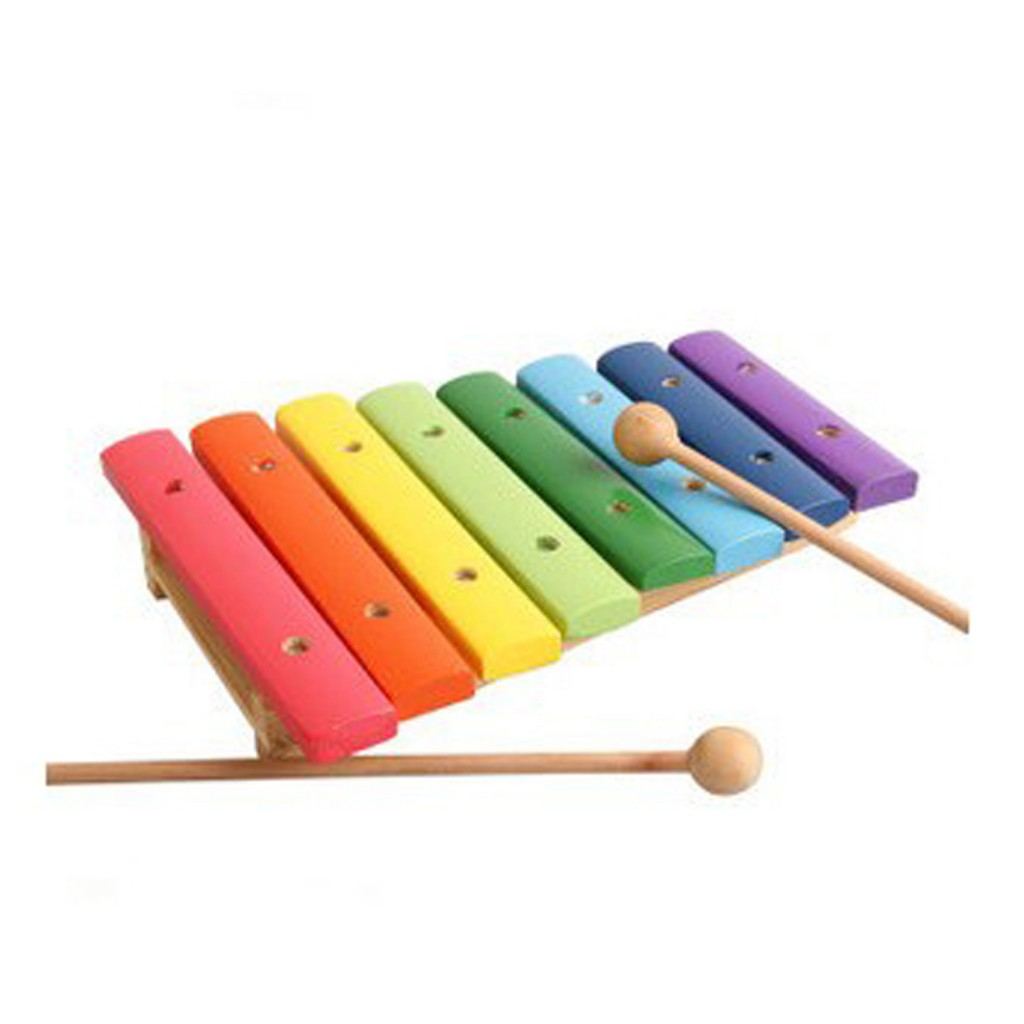 Young Mindz 8-Scale Wooden Xylophone