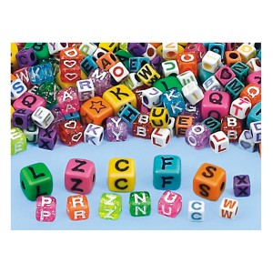 Lakeshore Alphabet Collage Beads