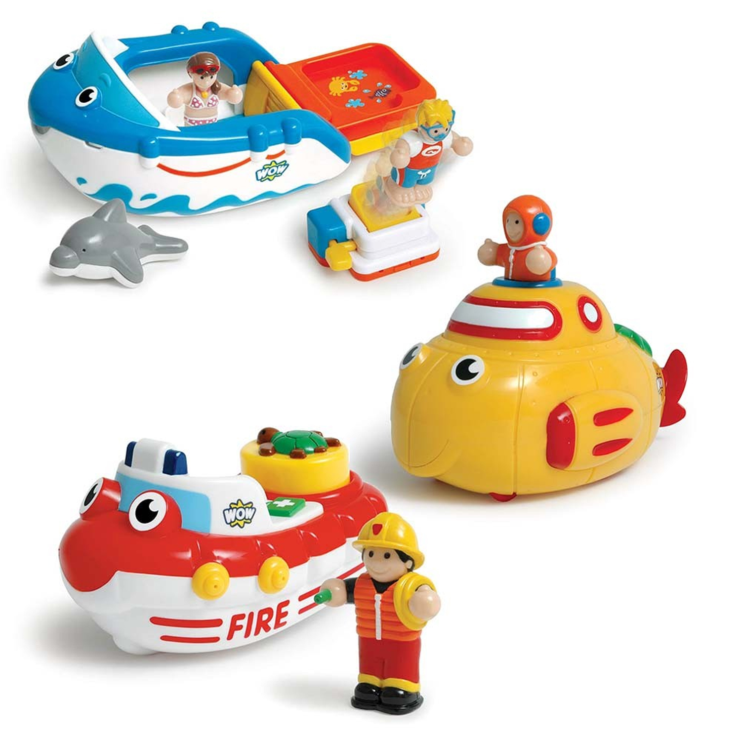 WOW Toys Bathtime Friends - Keywest Internationale