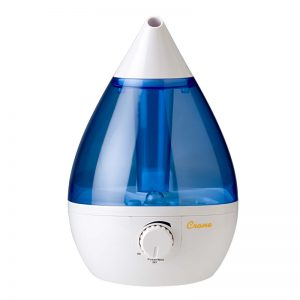 Crane White & Blue Drop Shape Cool Mist Humidifier