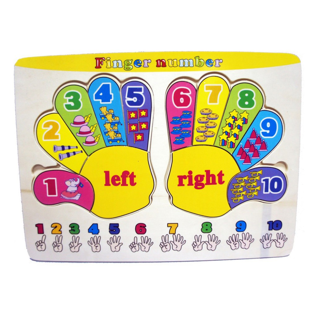 Young Mindz Finger Number Puzzle