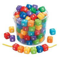 Lakeshore Giant Alphabet Beads