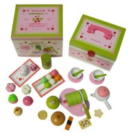 Mother Garden Japanese Green Tea and Cake Set