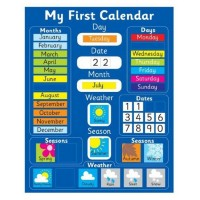Young Mindz My First Calendar Magnetic Board