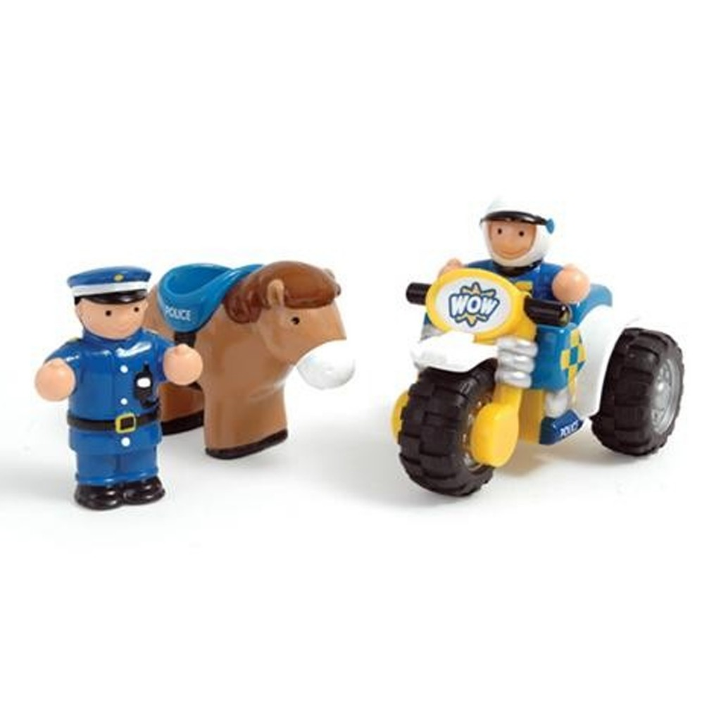 WOW Toys Police Patrol Riders