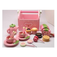 Mother Garden Strawberry Sweets Time Tea Set