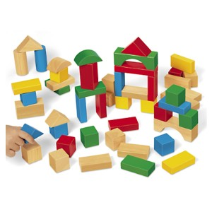 Lakeshore Tabletop Hardwood Blocks - Starter Set
