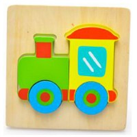 Young Mindz Train Jigsaw Puzzle