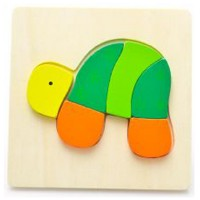 Young Mindz Turtle Chunky Puzzle