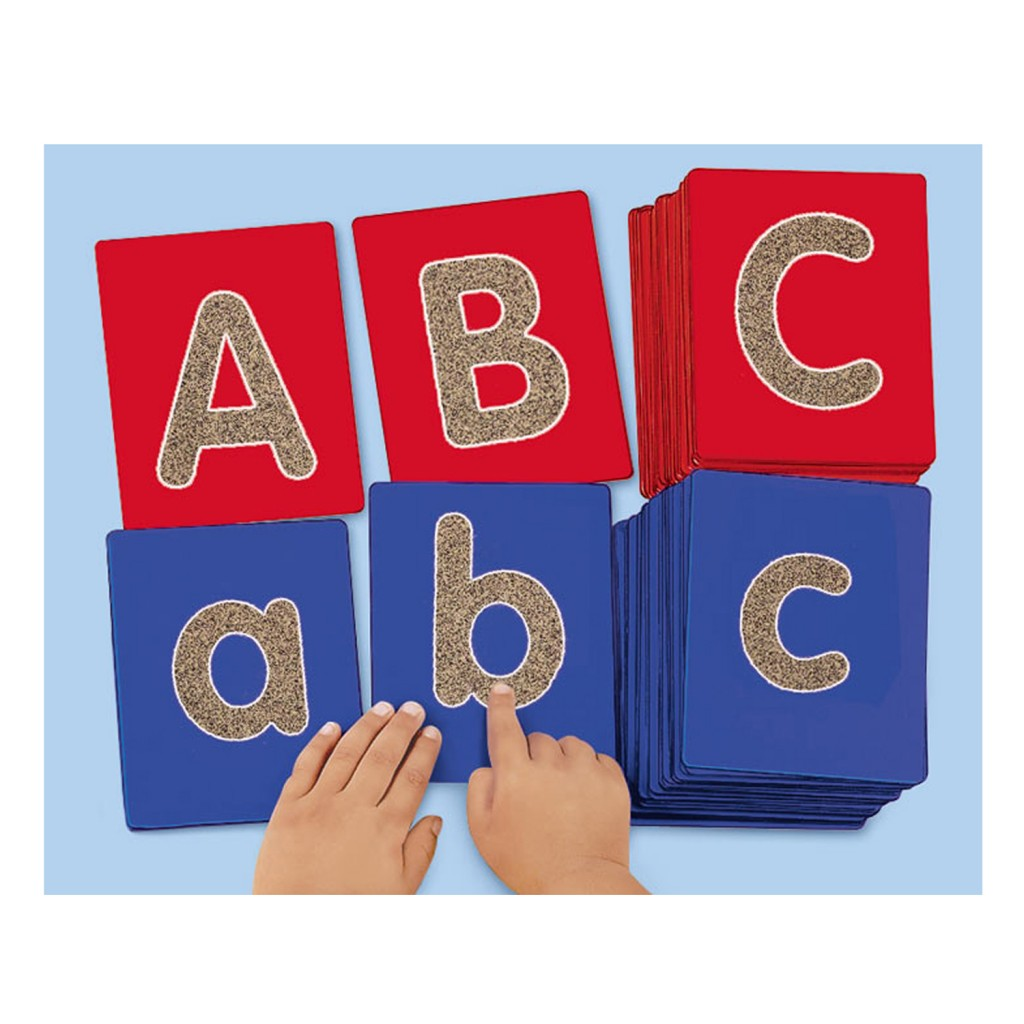 Lakeshore Uppercase Tactile Letters