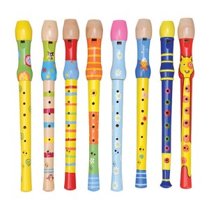Young Mindz Wooden Flute