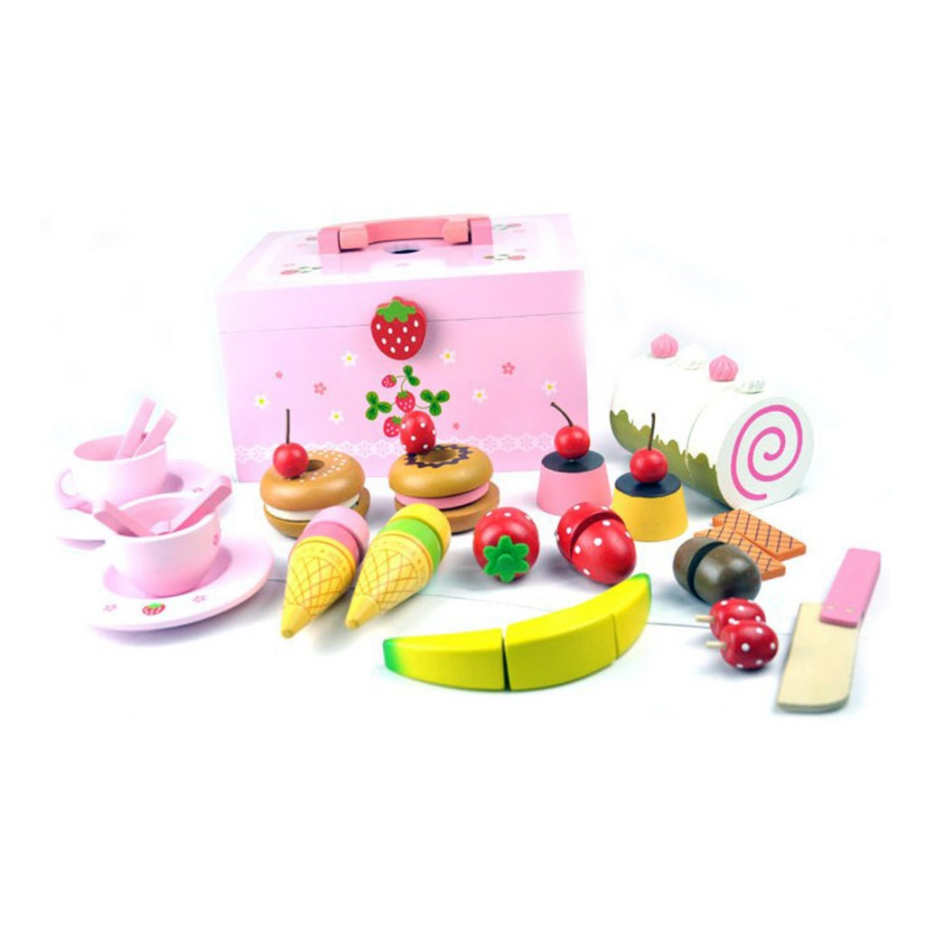 Mother Garden Wooden Sweets Tea Set