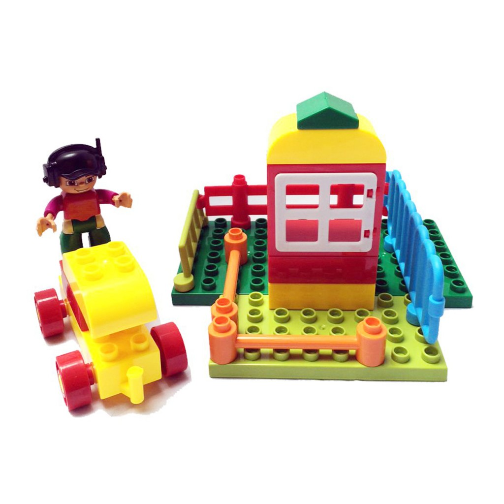 Young Mindz 38 pcs JUMBO Build & Play Bricks