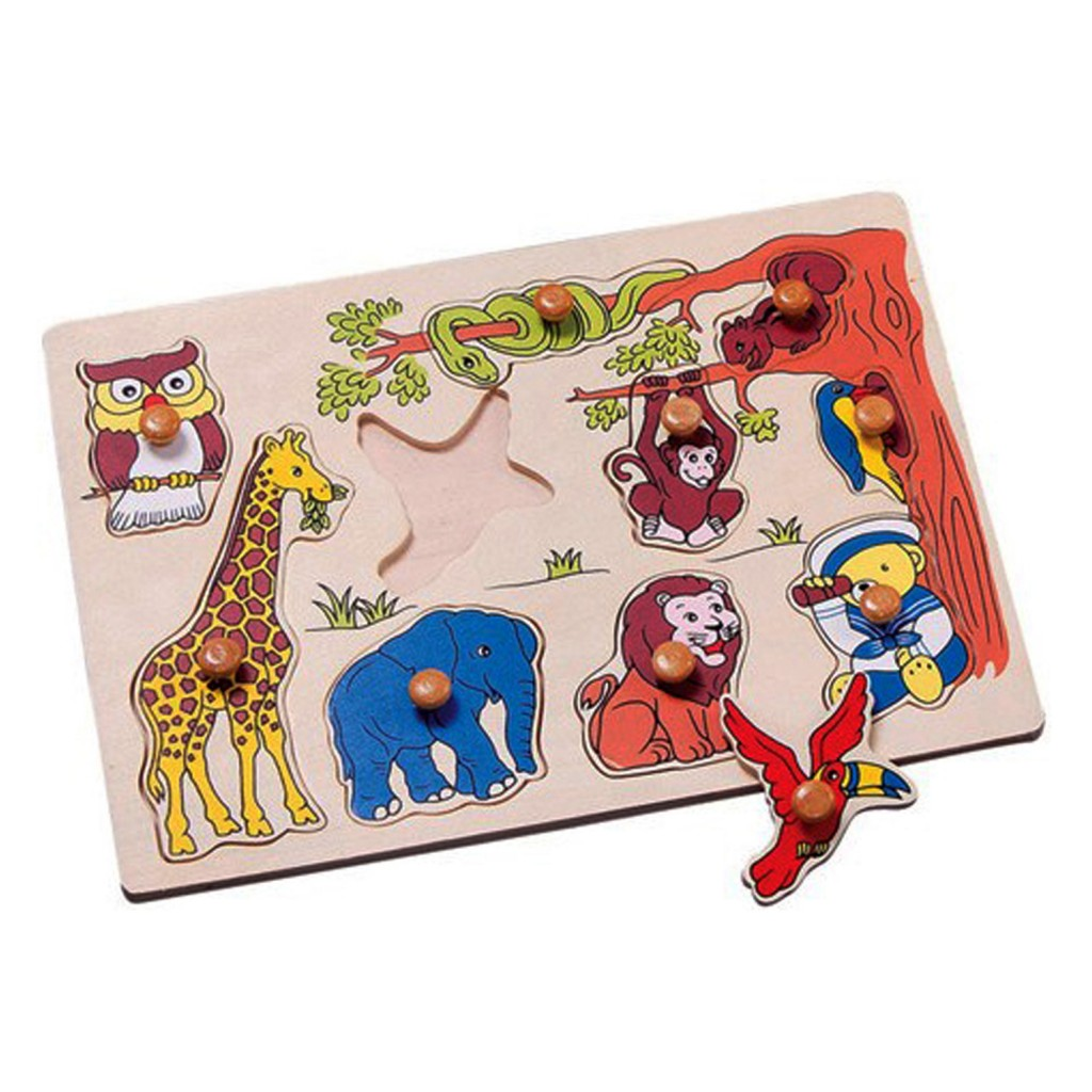 Young Mindz Jungle Puzzle