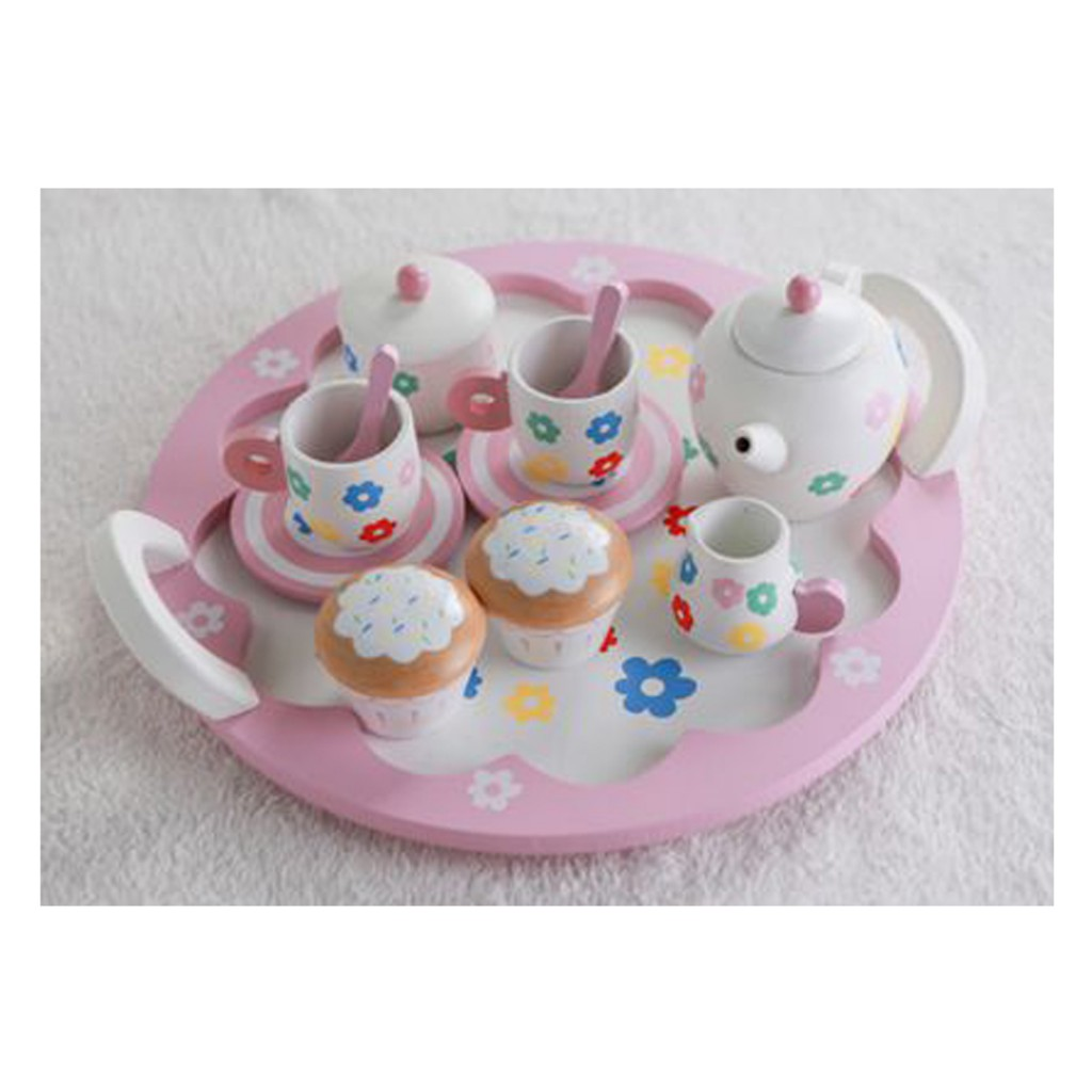 Young Mindz Pink Cupcake and Tea Set