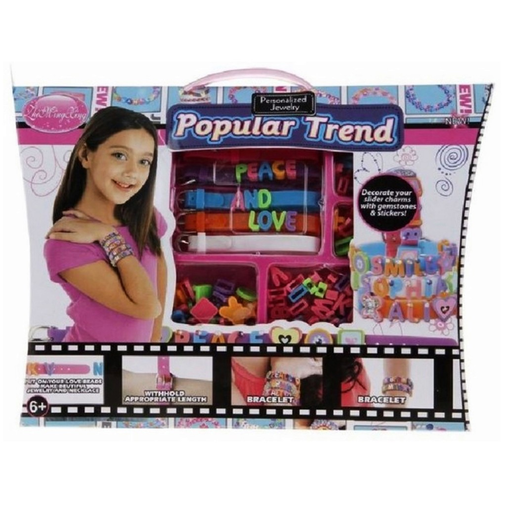 Young Mindz Popular Trend Charm Beads Set