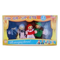 Young Mindz Red Riding Hood Finger Puppets