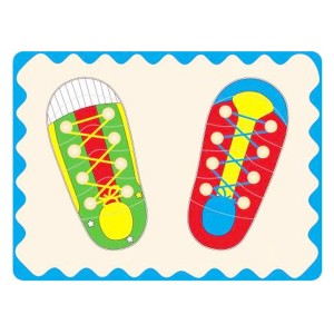 Young Mindz Shoe Lacing Puzzle