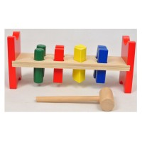 Young Mindz Wooden Punch A Peg