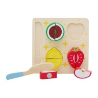 Young Mindz Wooden Cutting Fruits Puzzle