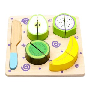 Young Mindz Wooden Cutting Fruit Puzzle