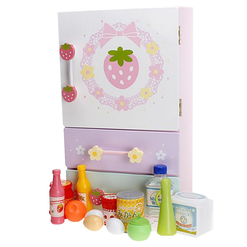 Mother Garden Pastel Color Refrigerator Set
