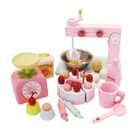Mother Garden Wild Strawberries Home Made Cake & Cookie Set