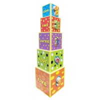 Young Mindz Wooden Stacking Tower Blocks