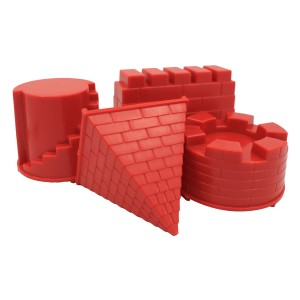 Motion Sand Castle Moulds