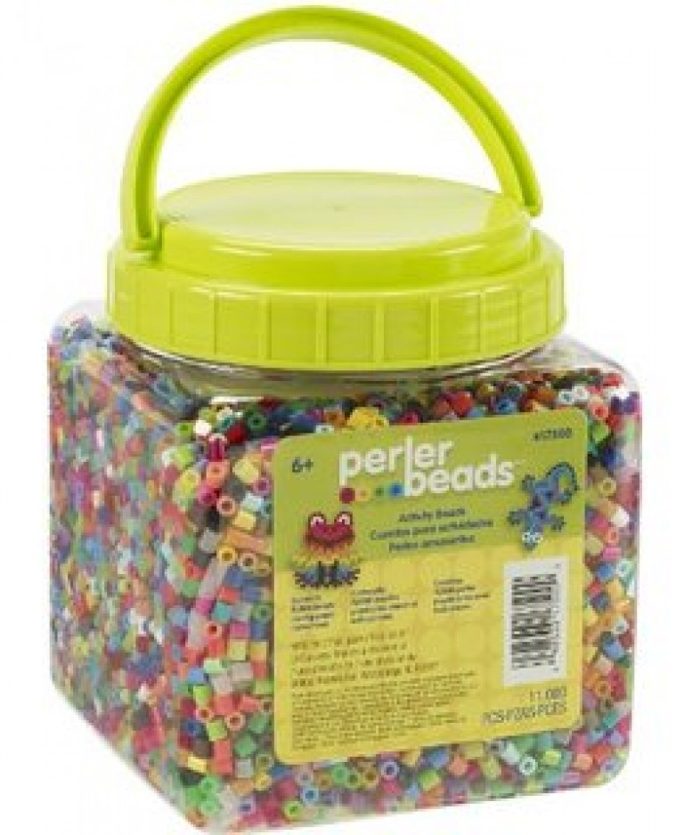 Perler Beads 11,000 Count-Multi-Mix