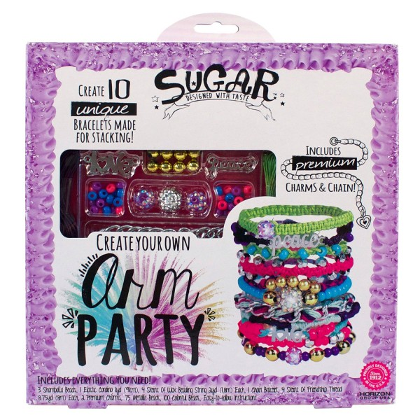 Sugar Toys Arm Party