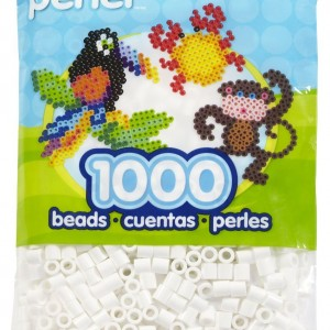 Perler Beads White Bag