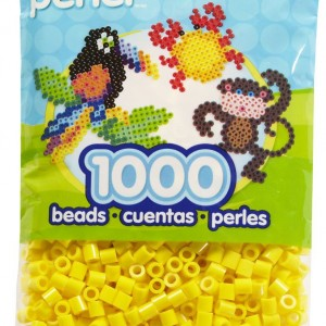 Perler Beads Yellow Bag
