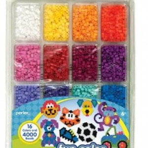 Perler Beads Fun Colors Bead Tray - 4000pc