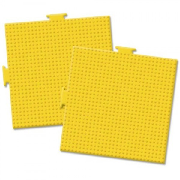 Perler Beads Large Square Pegboards 5-1/2-Inch-by-5-1/12-Inch, 2-Pack