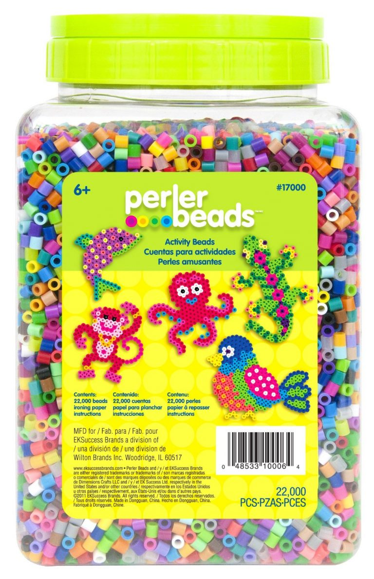 22, 000 Count Bead Jar Multi-Mix Colors