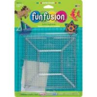 Large Clear Square Pegboards - 2 Count