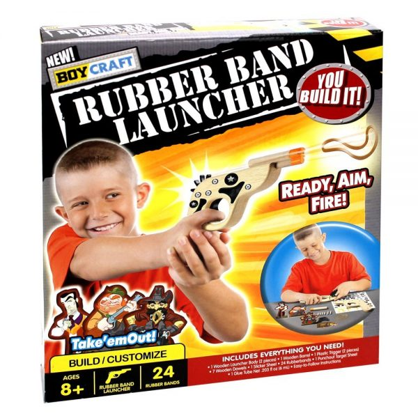 Rubber Band Launcher
