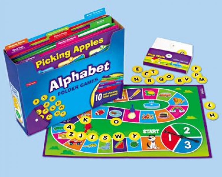 Alphabet Folder Game Library - Pre K-K