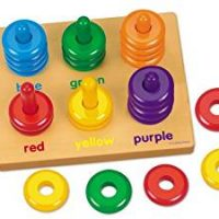 Color Rings Sorting Board