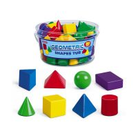 3-D Geometric Shapes Tub