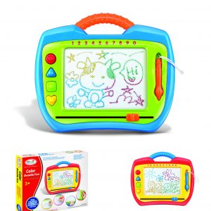 Write N' Draw Magnetic Learning Case (Colored Doodle)