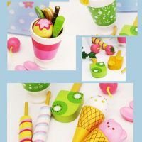 Refrigerator Ice Parfait Set