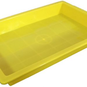 Plastic Sand Tray - Yellow