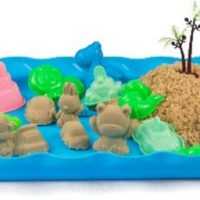 Plastic Sand Tray - Blue