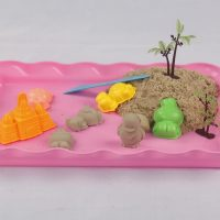 Plastic Sand Tray - Pink