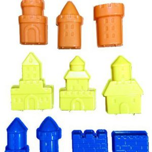 3D Dream Castle Moulds