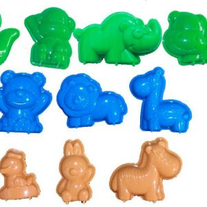 3D Animals World Moulds
