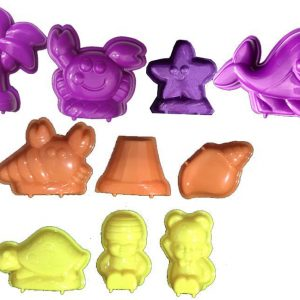 3D Beach Animals Moulds