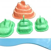 3D Ice Cream Moulds